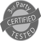 3rd-party tested logo